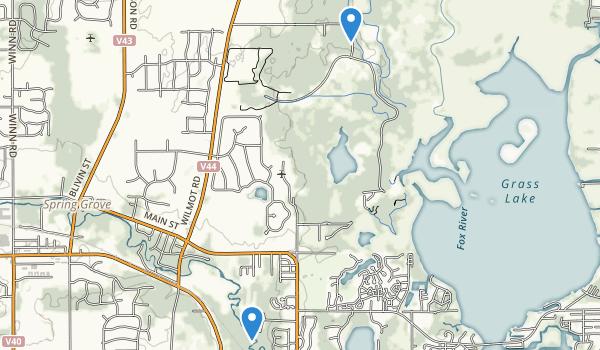 Spring Grove, Illinois Map