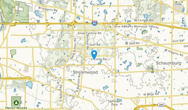 Streamwood, Illinois Map