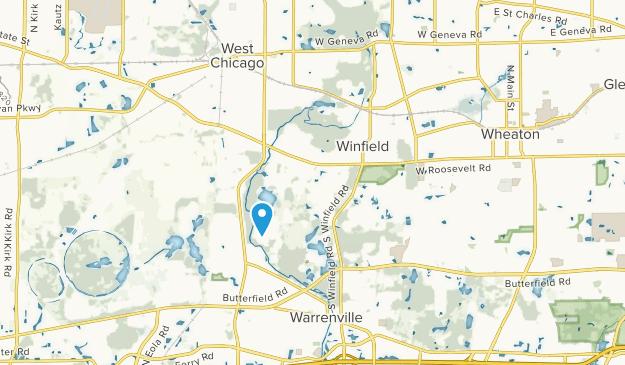 Winfield, Illinois Map