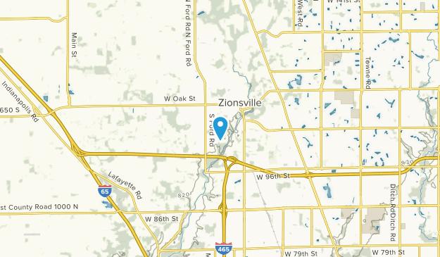 Fox Hollow, Indiana Map