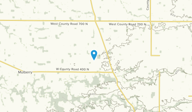 Frankfort, Indiana Map