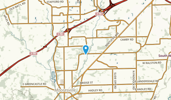 Friendswood, Indiana Map