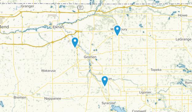 Goshen, Indiana Map