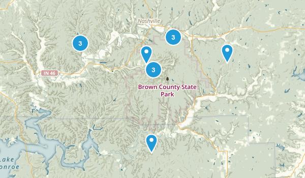 Best Trails Near Nashville Indiana AllTrailscom - Nashville on us map