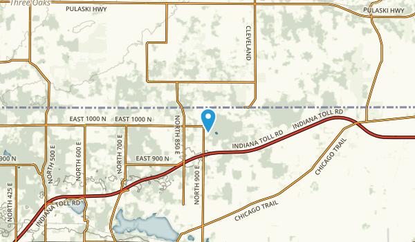 Olive, Indiana Map