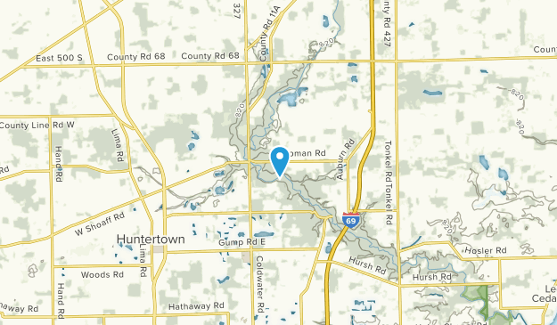 Perry, Indiana Map