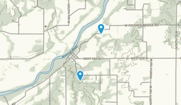 Shawnee, Indiana Map