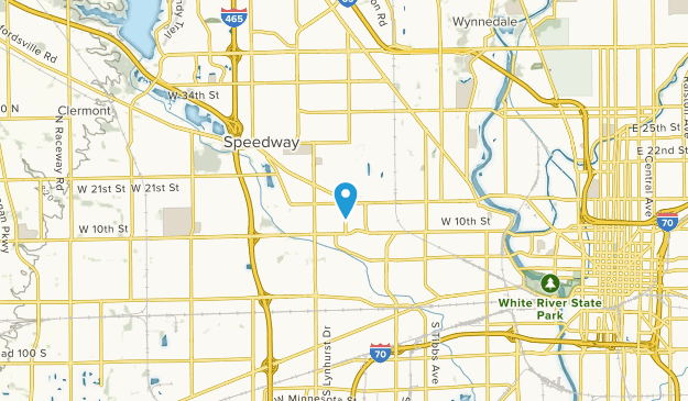 Speedway, Indiana Map
