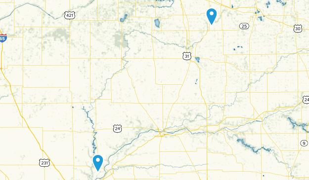 Tippecanoe, Indiana Map