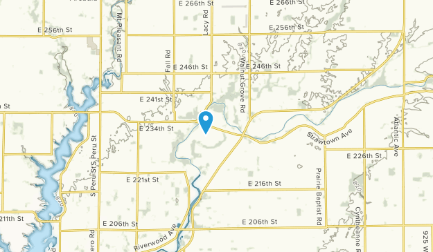 White River, Indiana Map