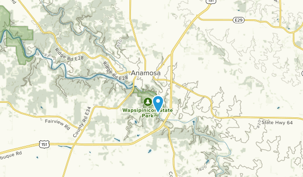 Anamosa, Iowa Map