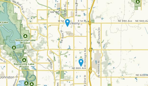 Ankeny, Iowa Map