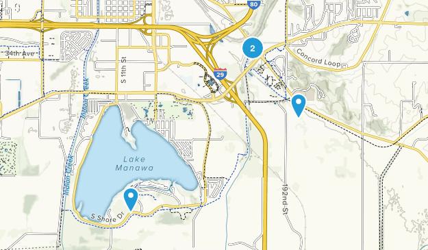 Council Bluffs, Iowa Map