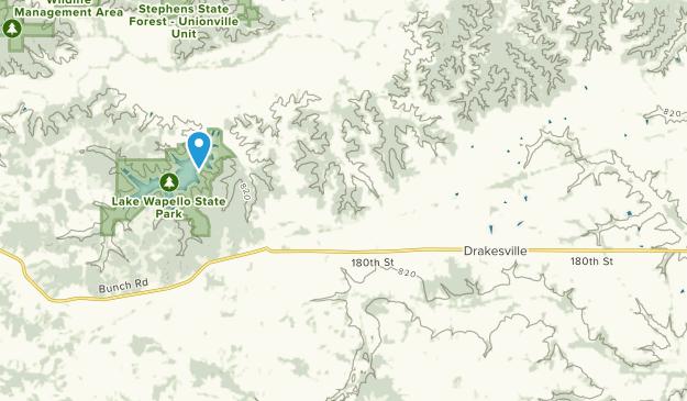 Drakesville, Iowa Map