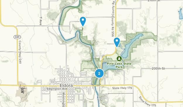 Eldora, Iowa Map