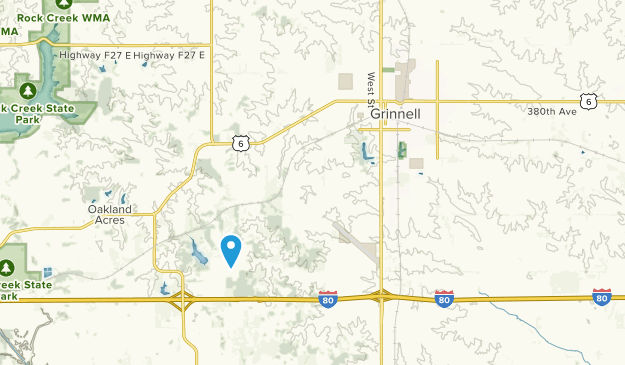 Grinnell, Iowa Map