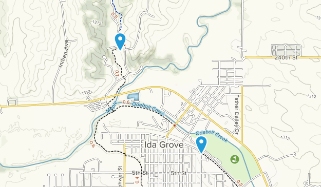 Ida Grove, Iowa Map