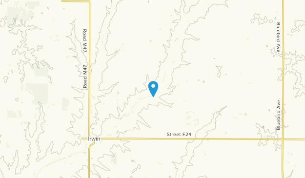 Irwin, Iowa Map