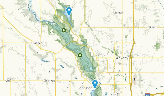 Johnston, Iowa Map