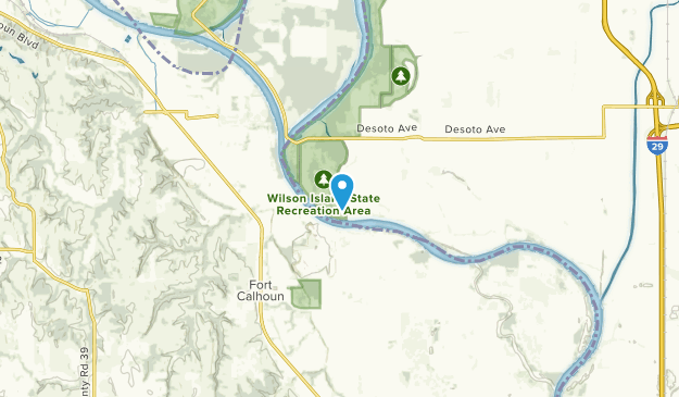 Missouri Valley, Iowa Map