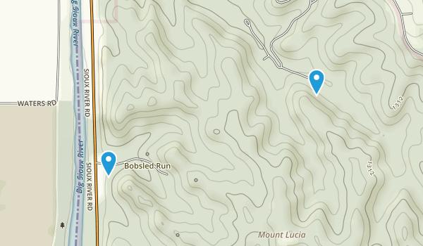 Mount Lucia, Iowa Map