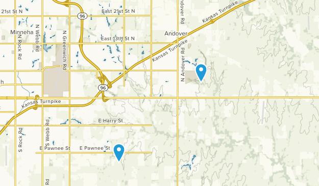 Andover, Kansas Map