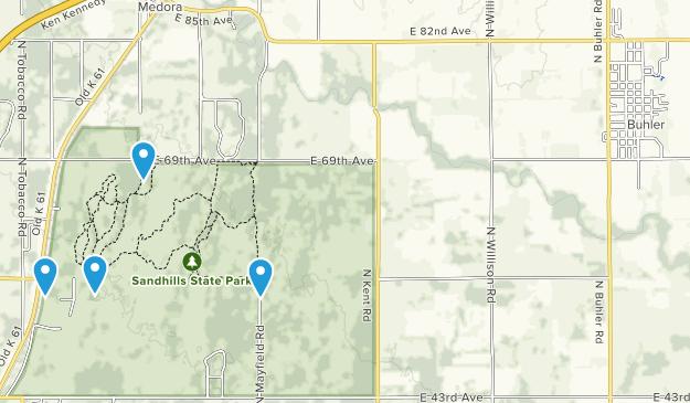 Buhler, Kansas Map