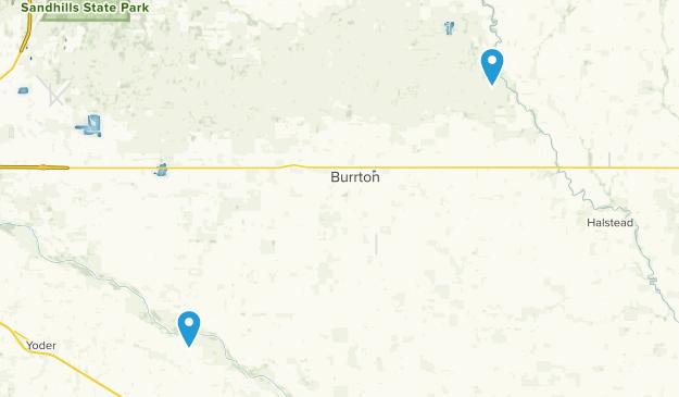 Burrton, Kansas Map