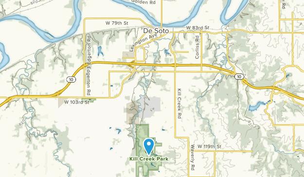 De Soto, Kansas Map