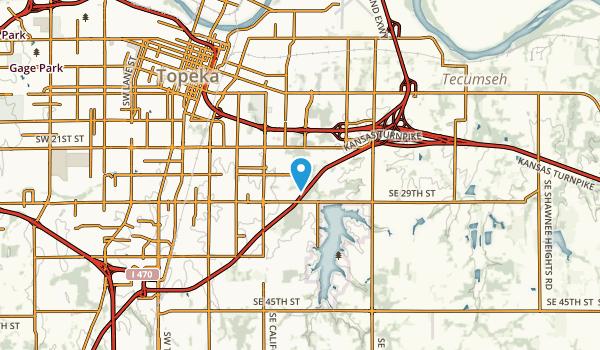 Highland Park, Kansas Map