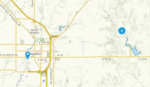Newton, Kansas Map