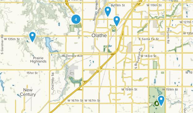 Olathe, Kansas Map