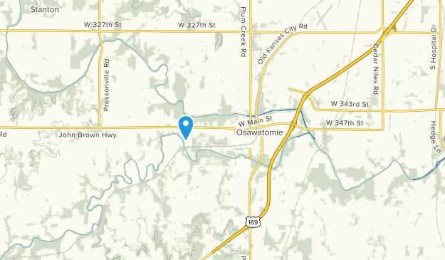 Osawatomie, Kansas Map