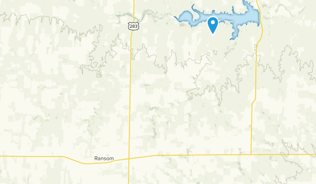 Ransom, Kansas Map