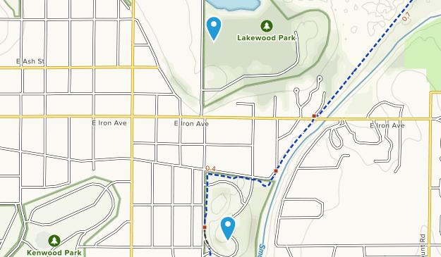 Salina, Kansas Map