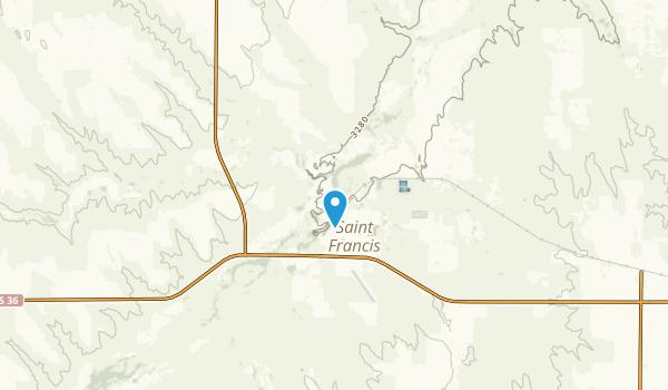Wano, Kansas Map