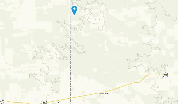 Weskan, Kansas Map