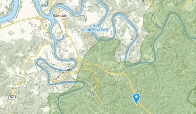Burnside, Kentucky Map