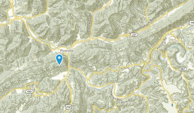 Calvin, Kentucky Map