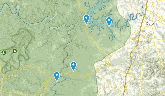 Corbin, Kentucky Map