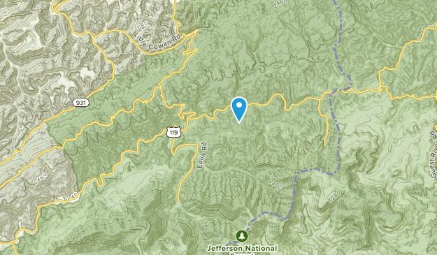 Eolia, Kentucky Map