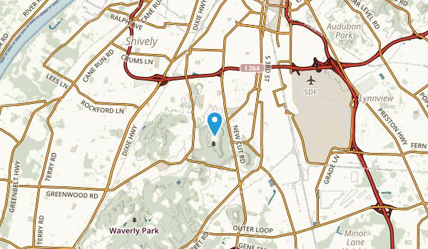 Hazelwood, Kentucky Map