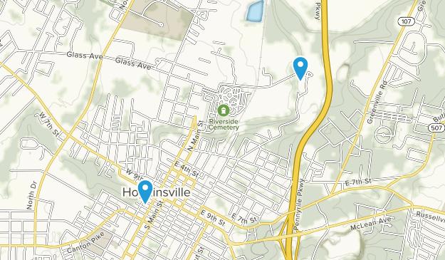 Hopkinsville, Kentucky Map