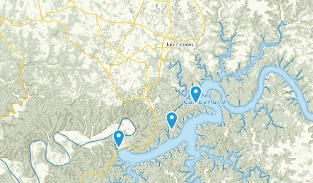 Jamestown, Kentucky Map