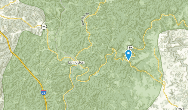 Livingston, Kentucky Map