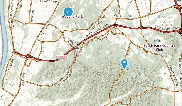 Louisville Metro, Kentucky Map
