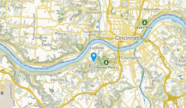 Ludlow, Kentucky Map