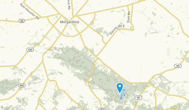 Morganfield, Kentucky Map