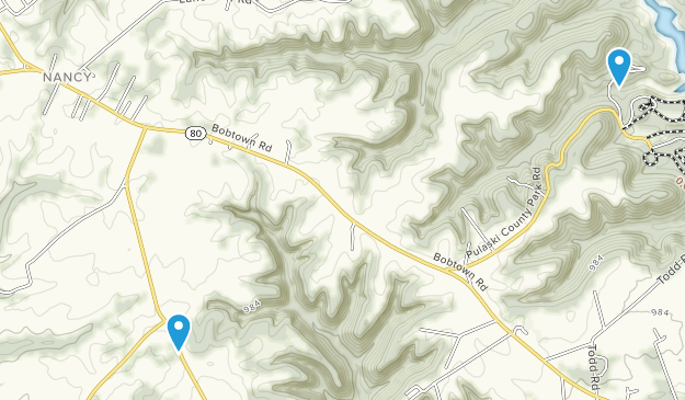 Nancy, Kentucky Map