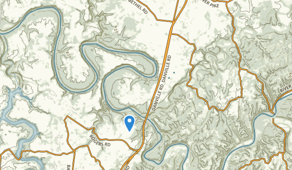 Nicholasville, Kentucky Map